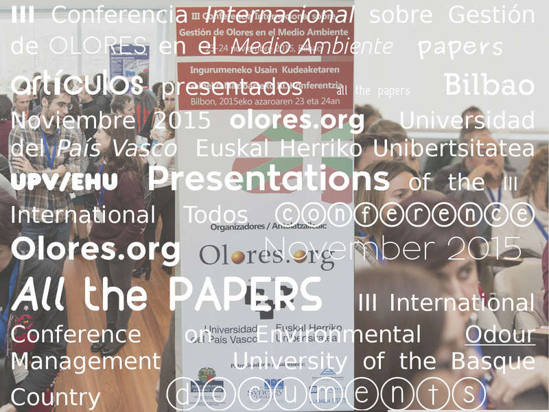 all the papers conference Bilbao
