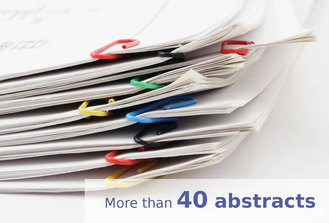 more than 40 abstracts